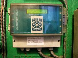 Контроллер выпускного устройства шахтных зерносушилок